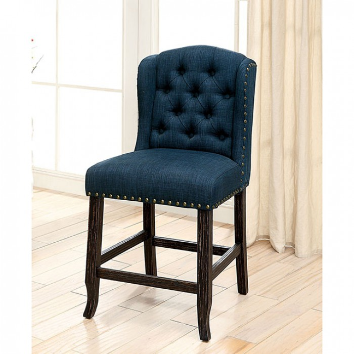 Blue Counter Height Chair