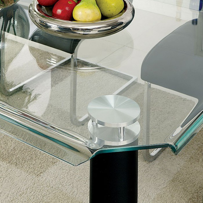 Tempered Glass Table Curved Edges