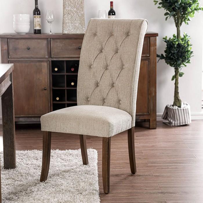 Beige Side Chair