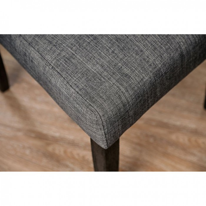 Gray Side Chair Seat