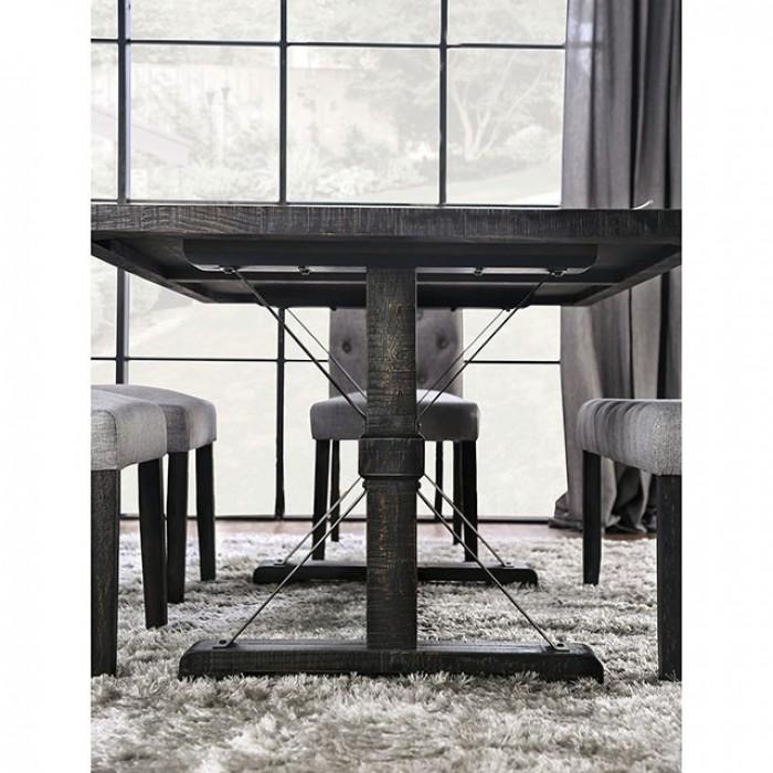 Rectangular Dining Table Leg View