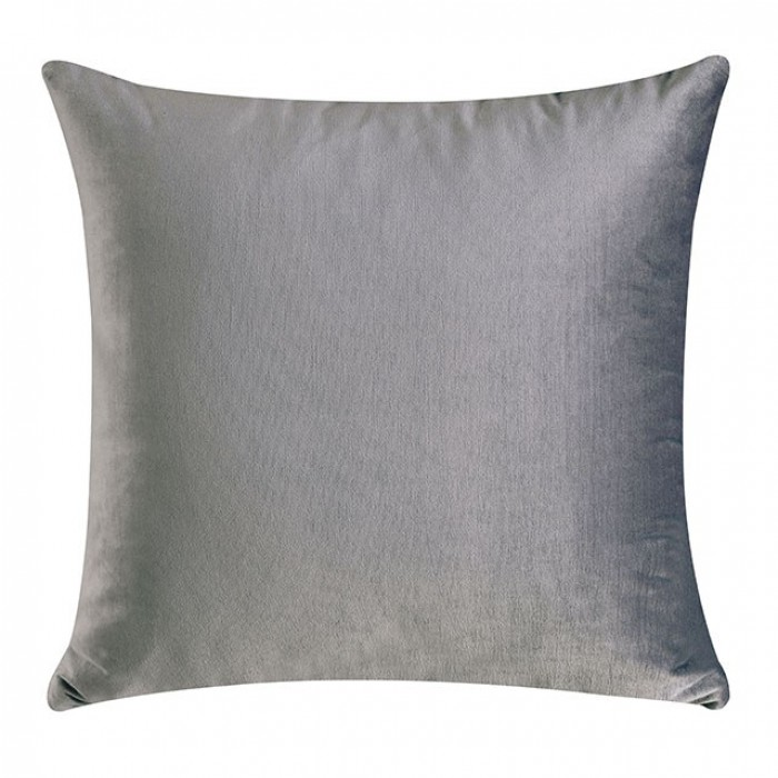 Gray Included Pillows One Side