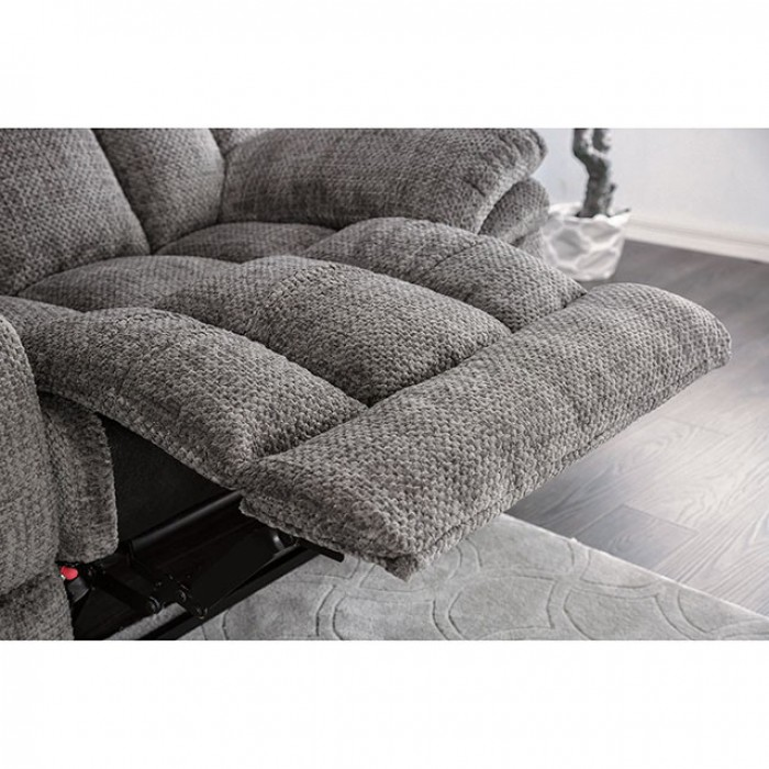Gray Reclined Seat