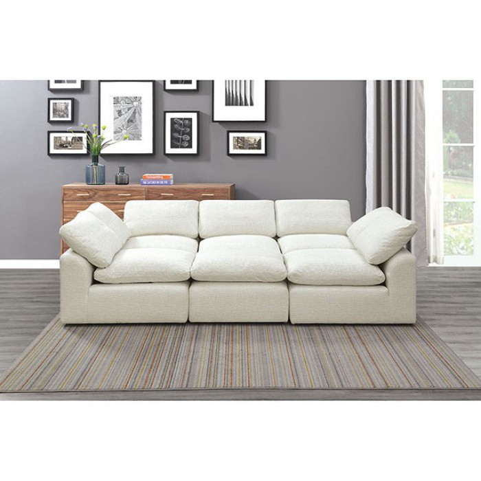 Cream Sleeper Sofa