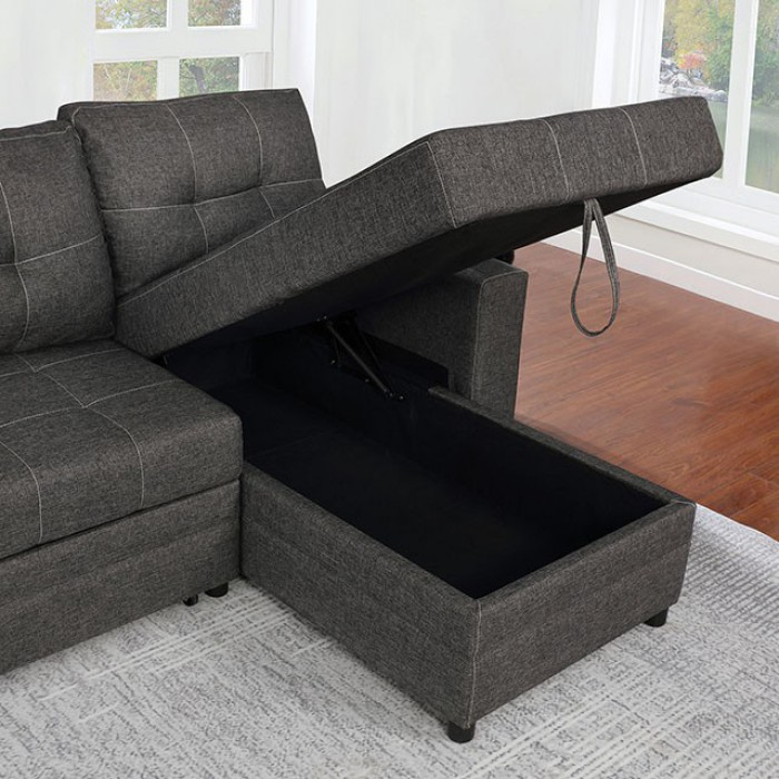 Right Chaise w/ Storage