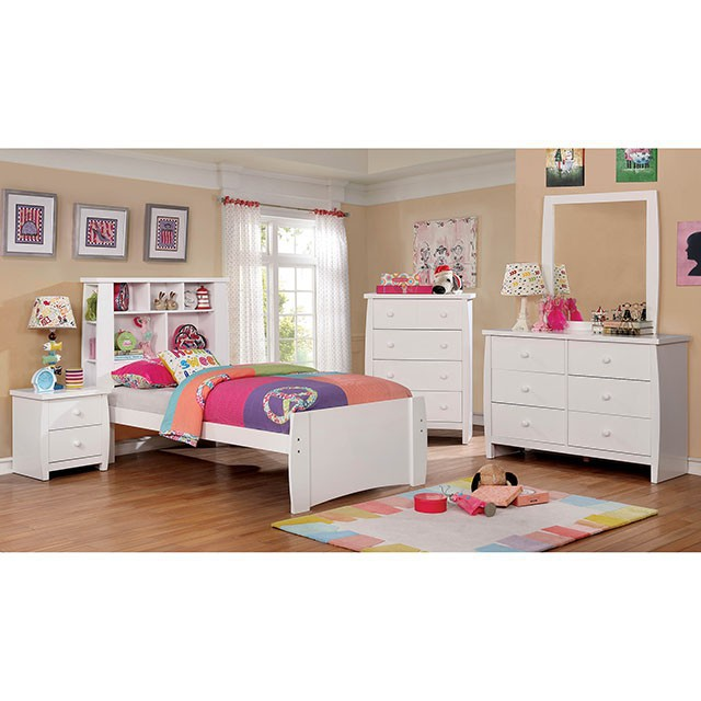 Complete White Bedroom Set