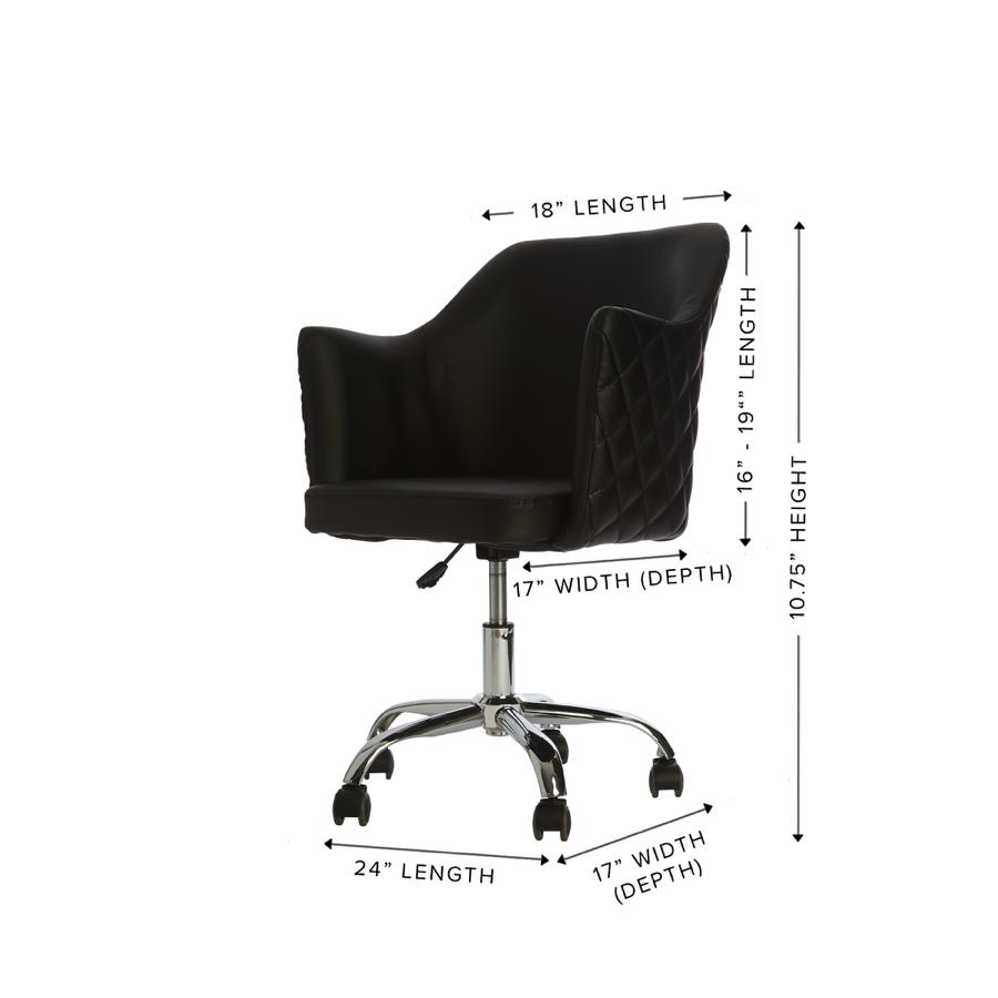 Vanity Chair Dimensions