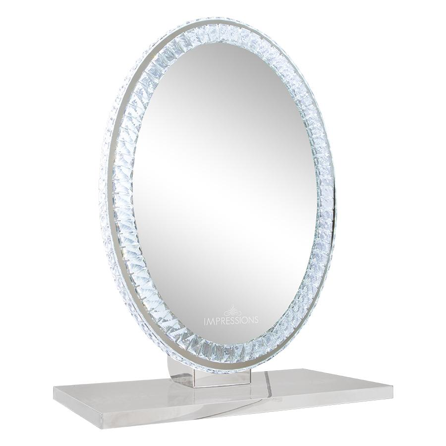 Oval Table Top Vanity Mirror