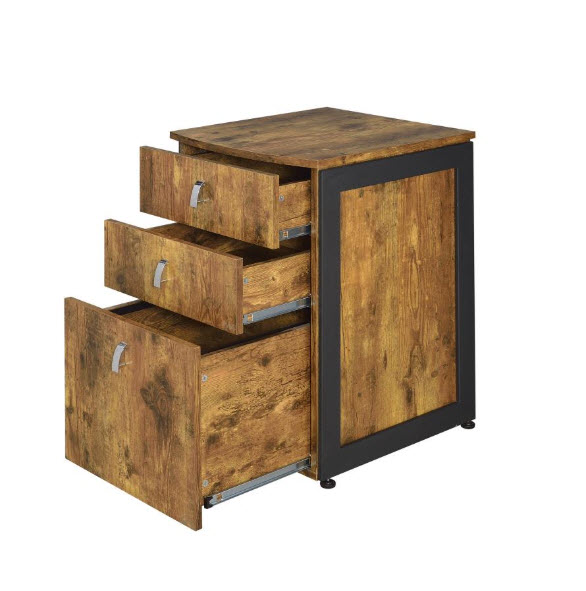 File Cabinet Drawers Opened