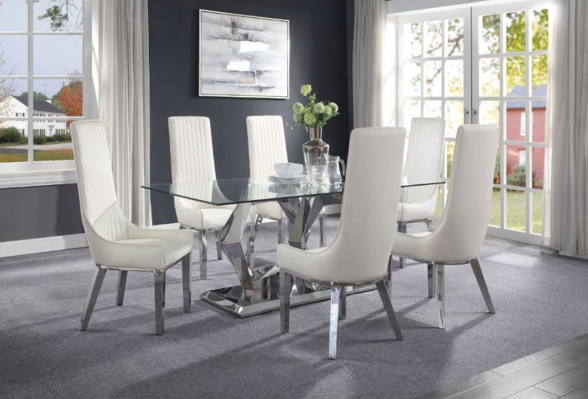 Complete Set W/White Chairs