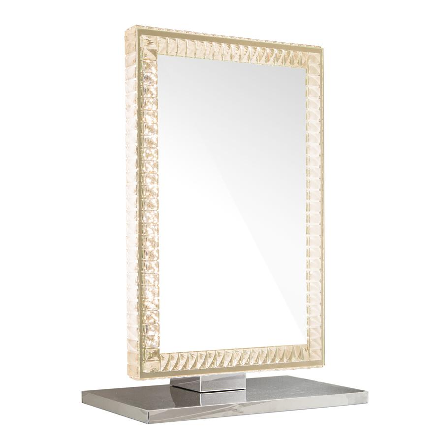Table Top Vanity Mirror w/ Different Lighting Set