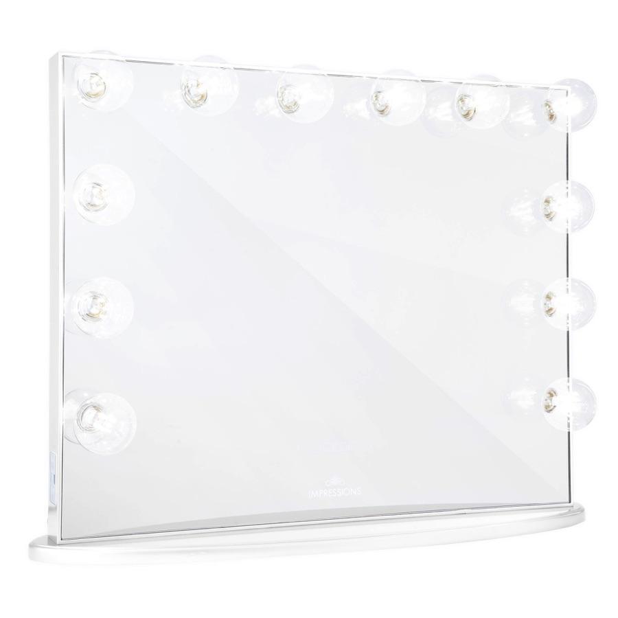 White Vanity Mirror