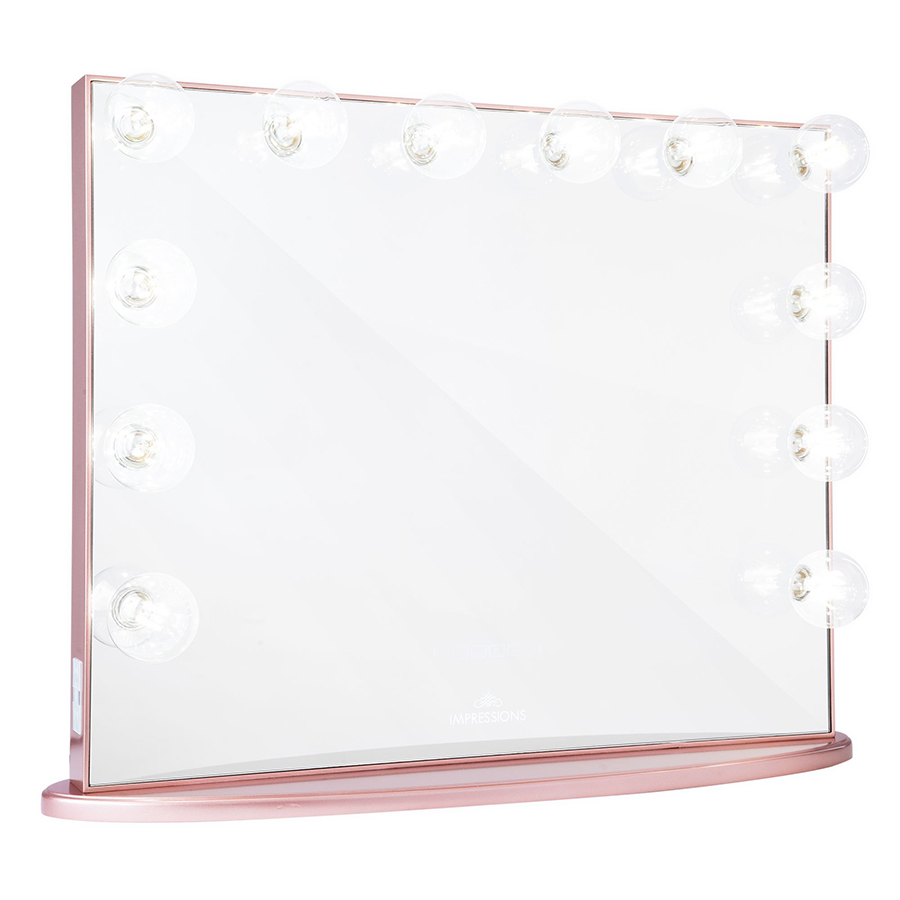 Rose Gold Hollywood Glow® Plus Vanity Mirror