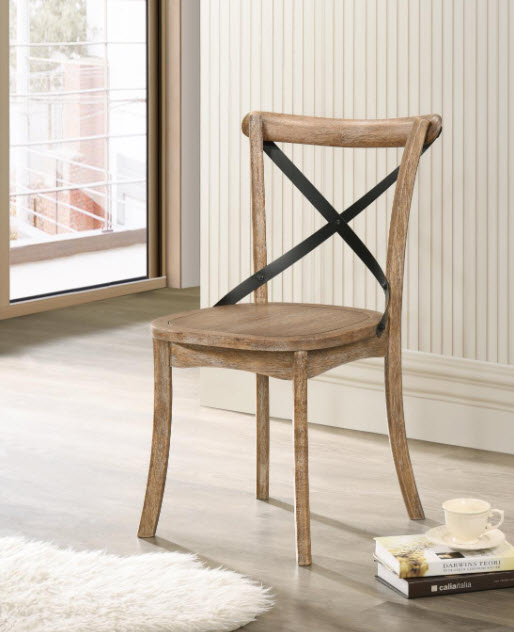 Rustic Oak Chair