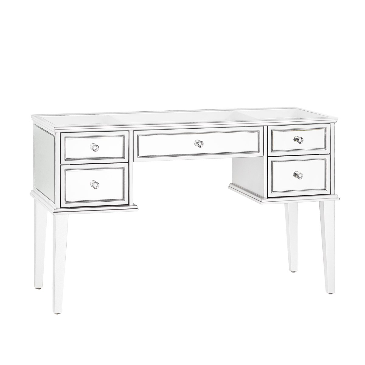 White Mirrored Vanity Table