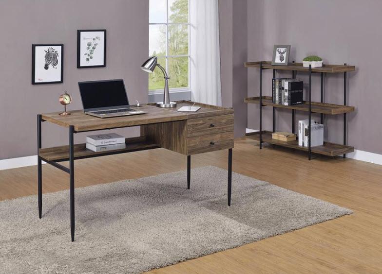 Desk W/Small Book Shelf