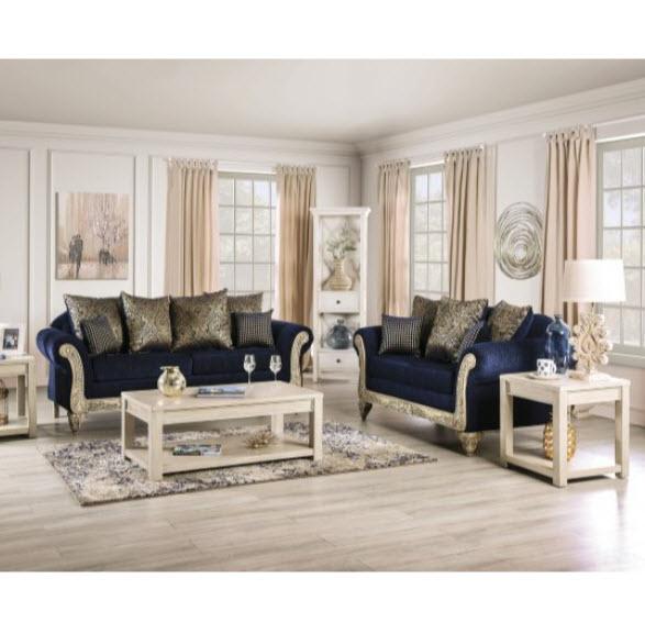 Marinella Royal Blue Sofa