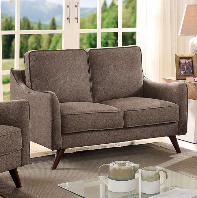 Light Brown Loveseat