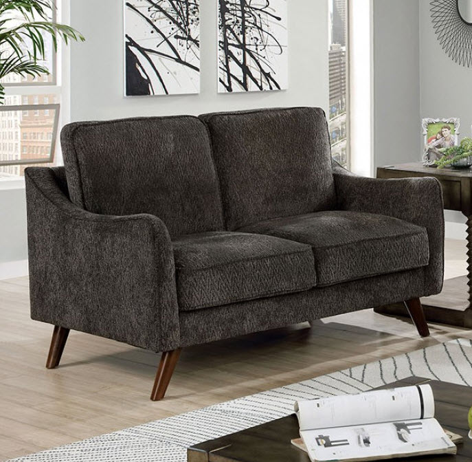 Dark Gray Loveseat