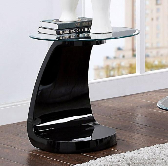 Black End Table