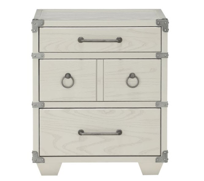 Nightstand W/3 Drawers