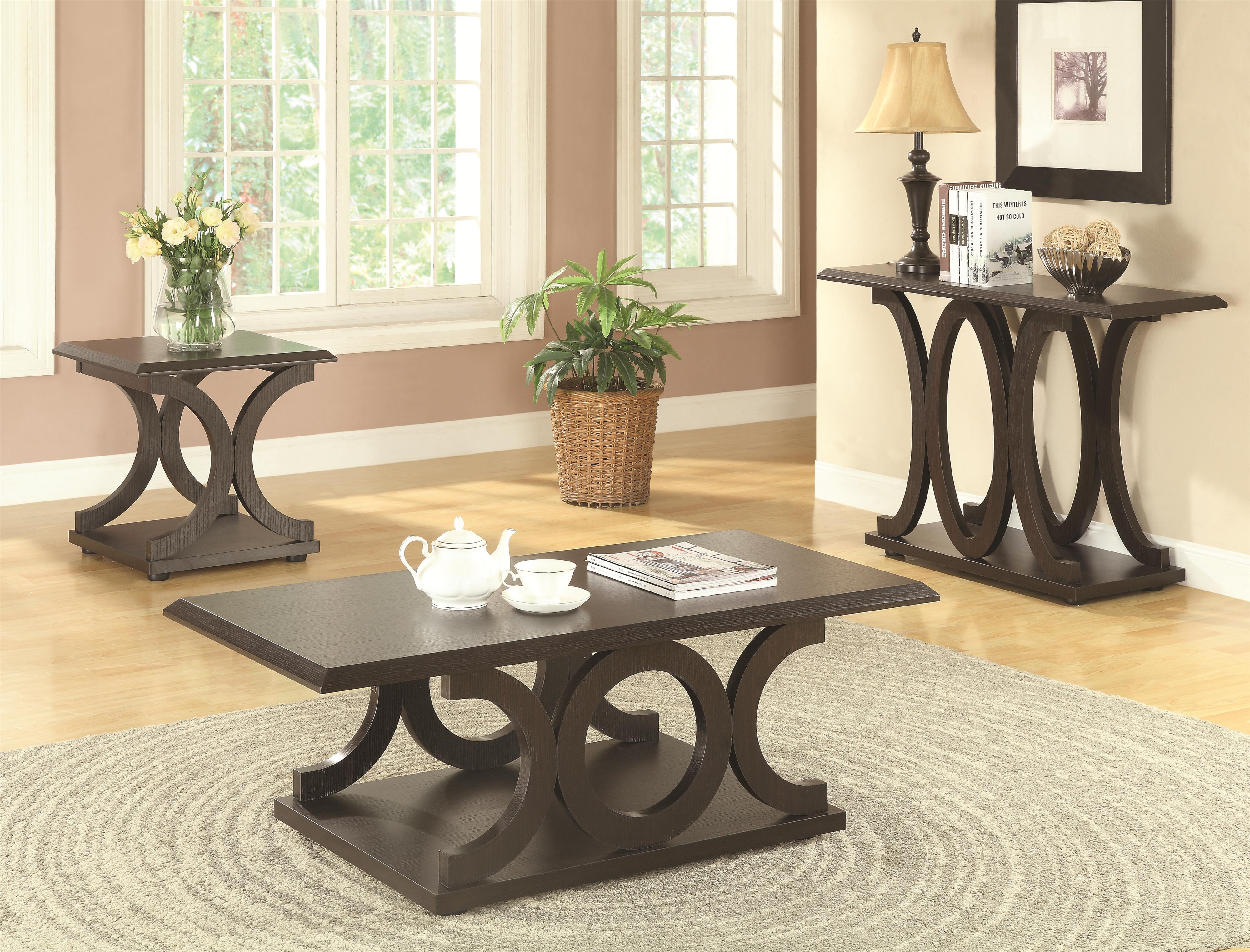 Picture of: C Shaped Coffee Table