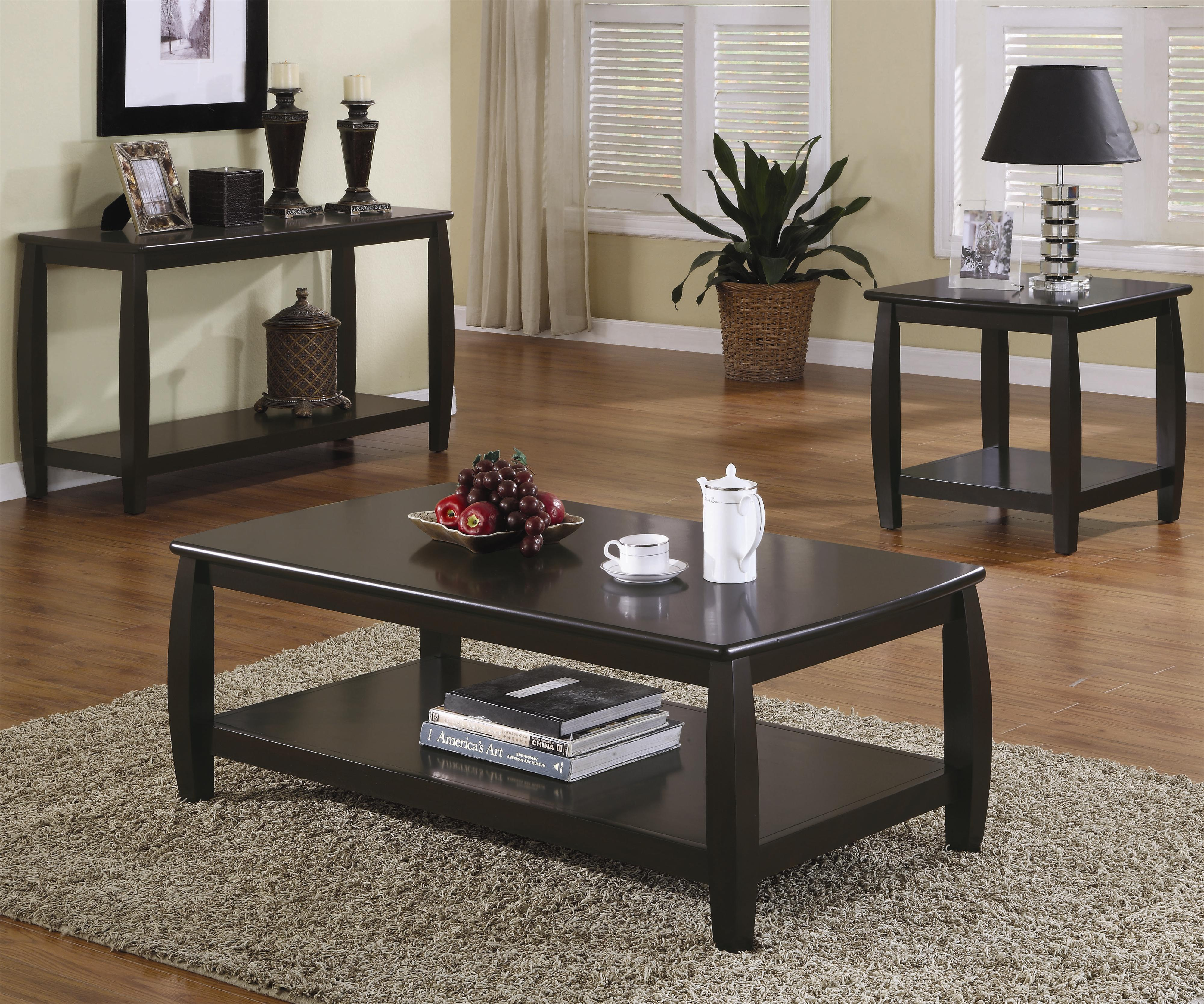 Picture of: Marina Coffee Table With 1 Shelf