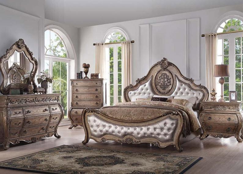 Ragenardus Vintage Luxury Bed