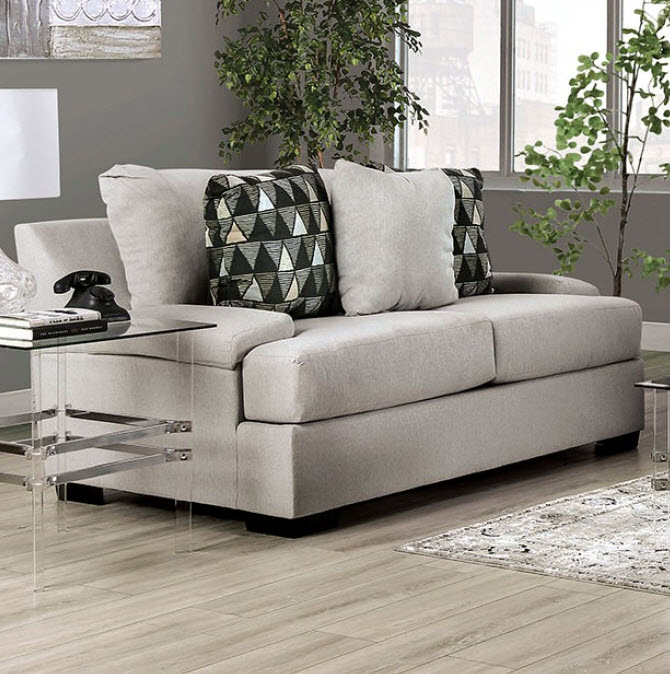 Light Gray Loveseat