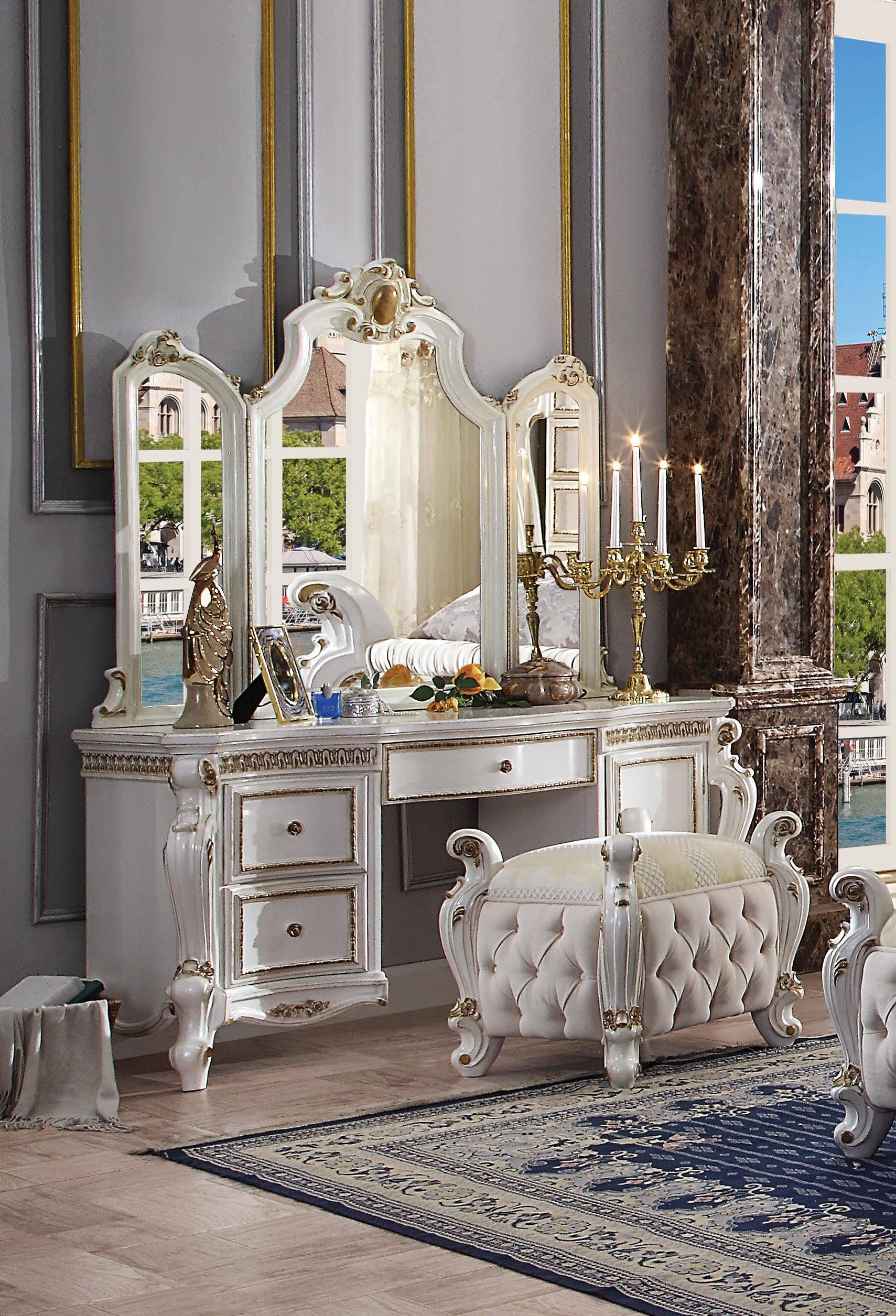 Vanity Desk w/ Stool