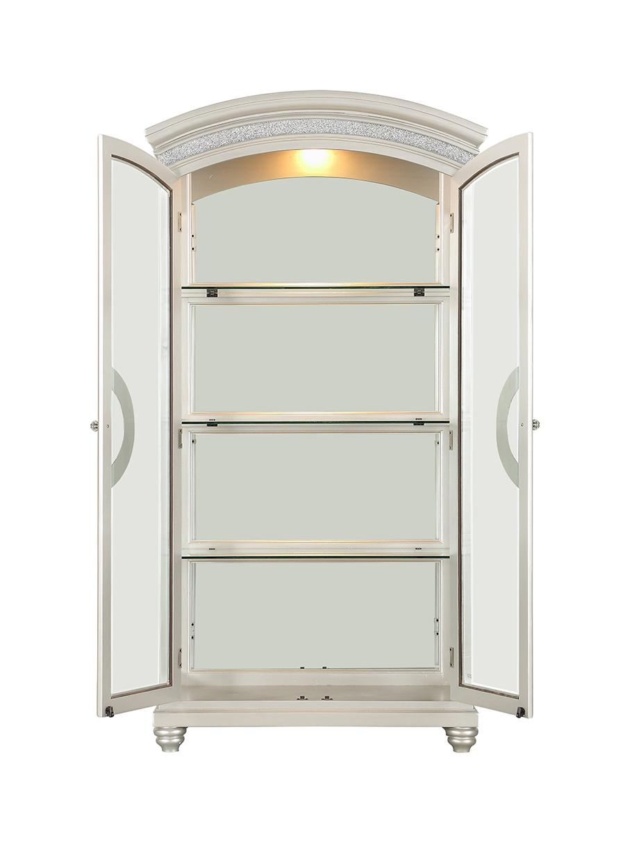 Curio Cabinet w/ Doors Open