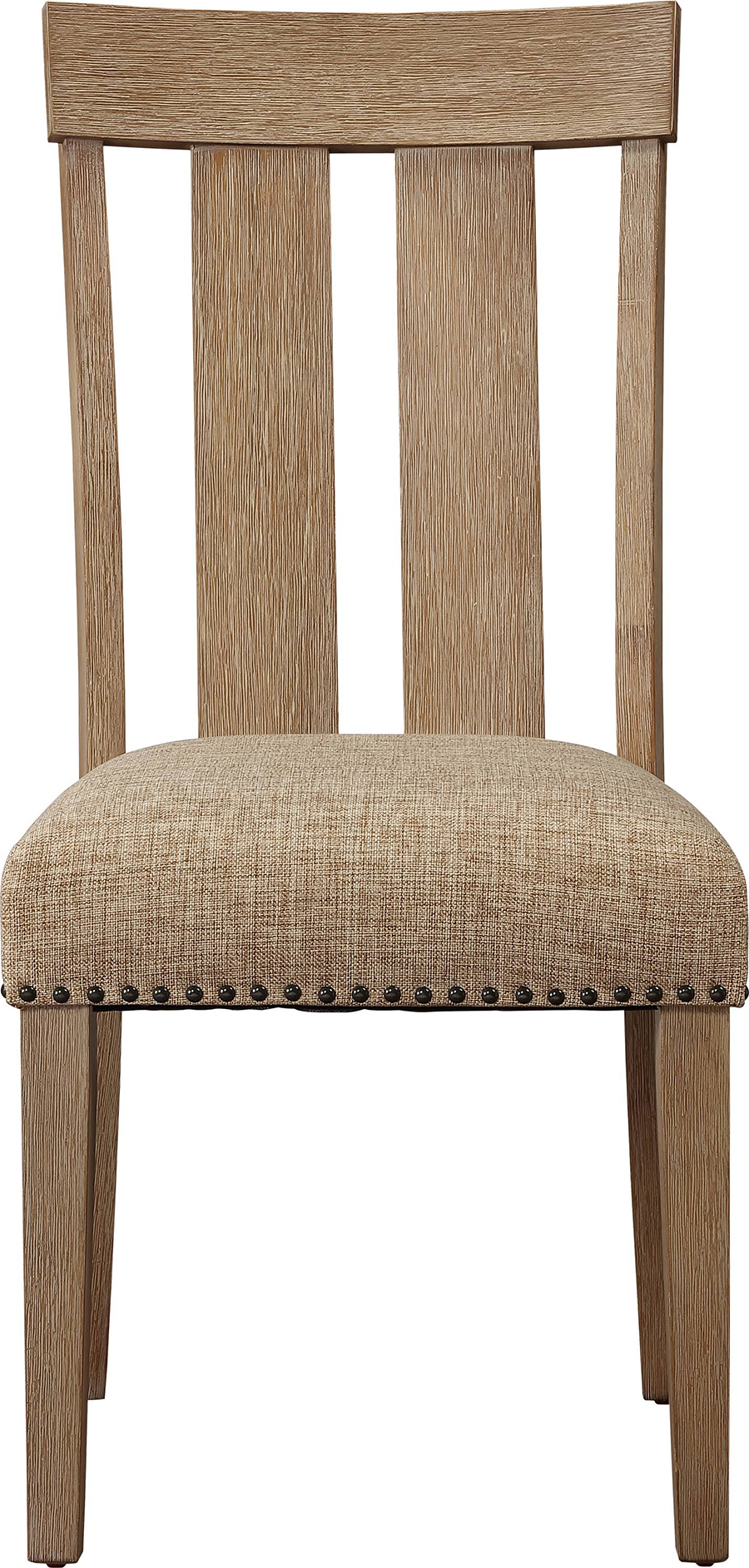 Slatted Back Side Chair Front
