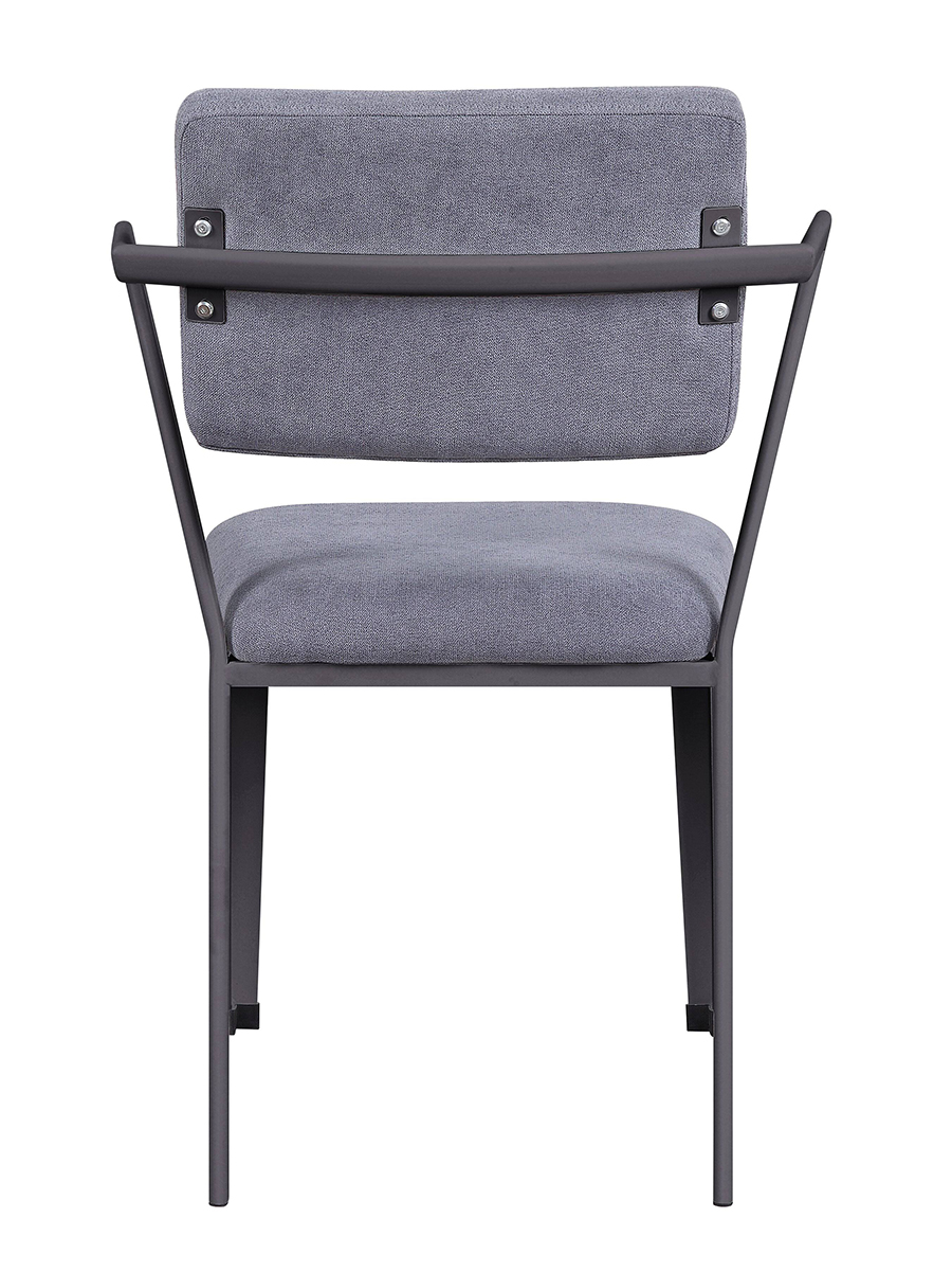 Gunmetal Arm Chair Back