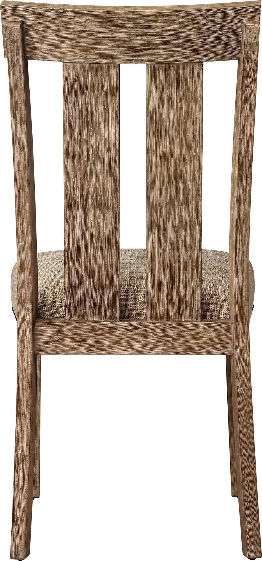 Slatted Back Side Chair Back