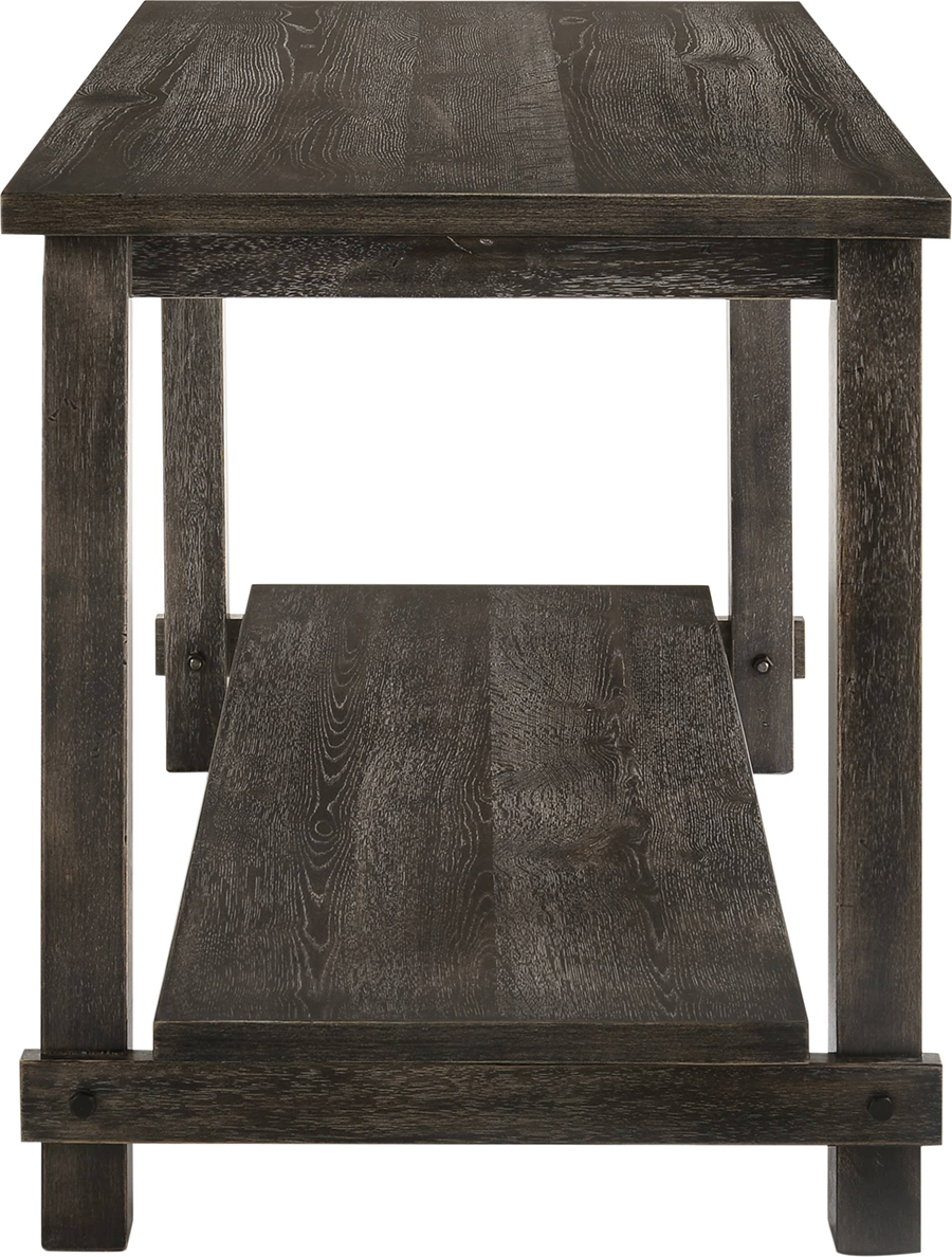 Weathered Gray Counter Height Table Side