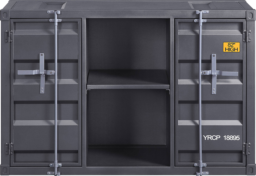 Gunmetal Server Front