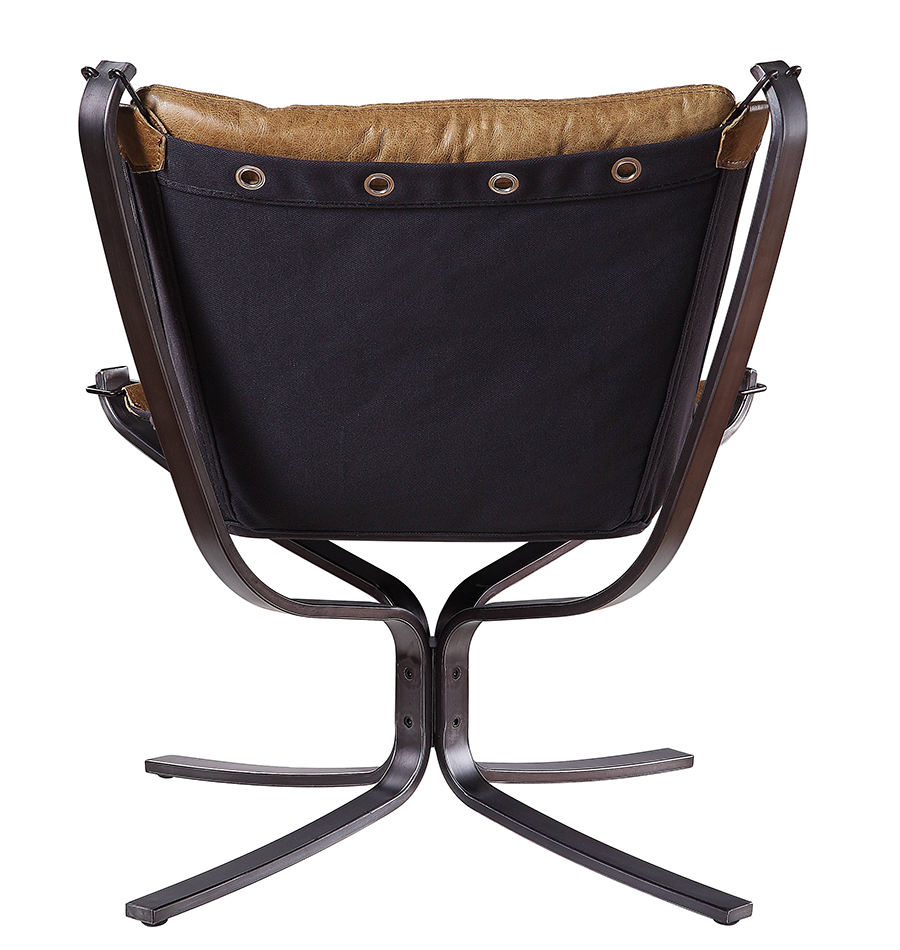 Coffee Accent Chair Back