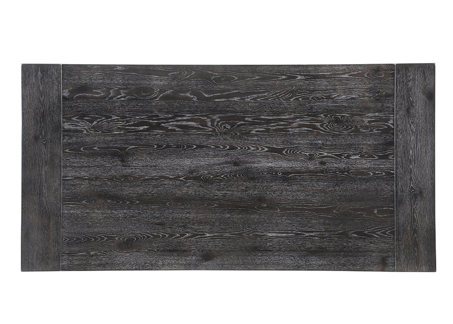 Weathered Gray Oak Dining Table Top
