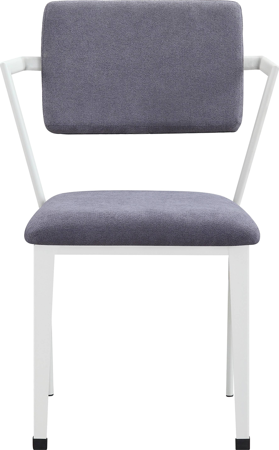 White Arm Chair Front