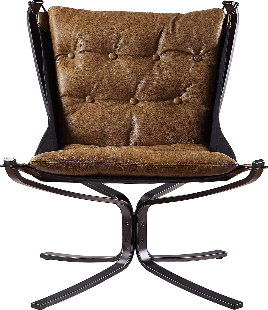 Coffee Accent Chair Front