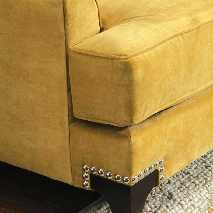 Gold T-Cushioned Seating