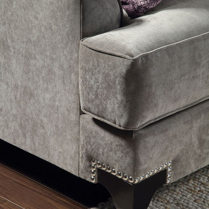 Vintage Taupe T-Cushioned Seating