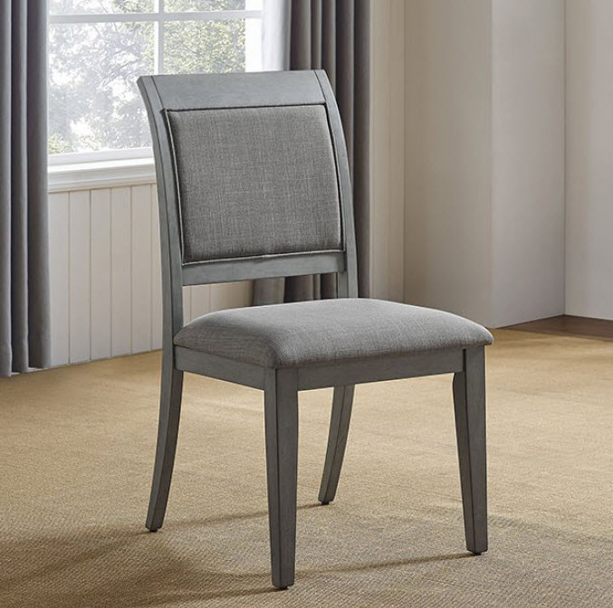 Marla Modern Rustic Dining Chair Set Of 2