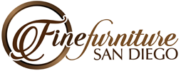 Fine Furniture San Diego - Kitchen & Dining - Curio & China Cabinets - Renske Antique White Hutch & Buffet with Sliding Doors